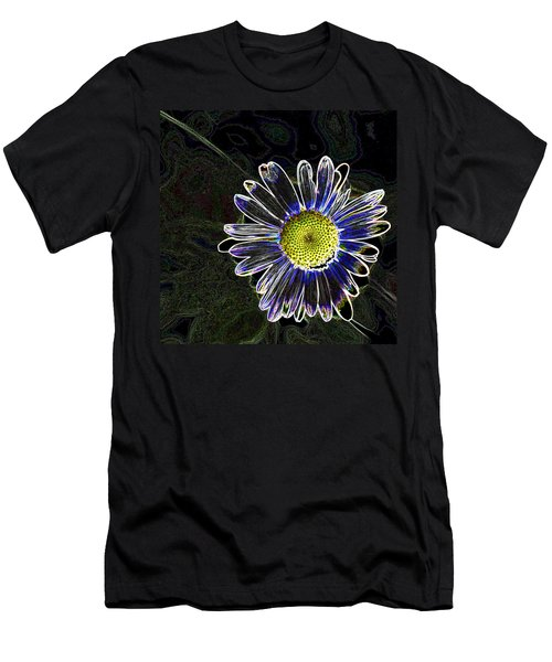 Psychedelic Daisy Men's T-Shirt (Athletic Fit)