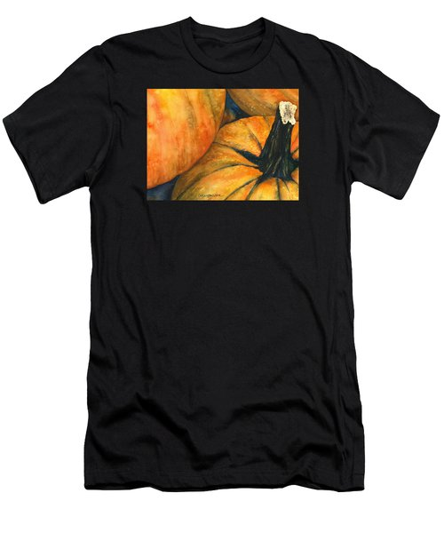 Men's T-Shirt (Slim Fit) featuring the painting Punkin by Casey Rasmussen White