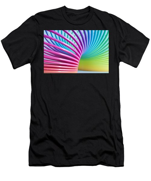 Rainbow 3 Men's T-Shirt (Athletic Fit)
