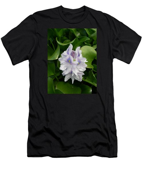 Men's T-Shirt (Slim Fit) featuring the digital art Rare Hawain Water Lilly by Claude McCoy