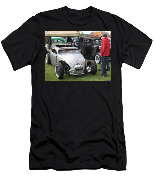 Rat Rod Many Parts Men's T-Shirt (Slim Fit) by Kym Backland