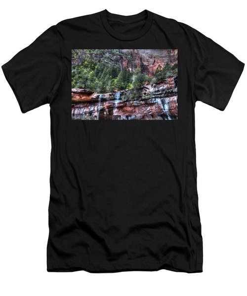Red Falls Men's T-Shirt (Athletic Fit)