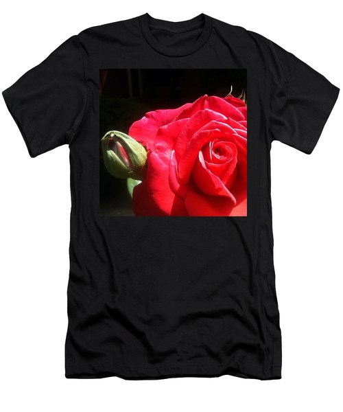 Red Red Rose Men's T-Shirt (Athletic Fit)