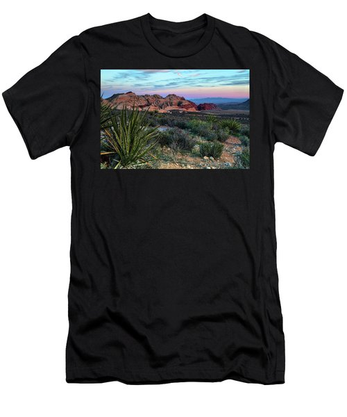 Red Rock Sunset II Men's T-Shirt (Athletic Fit)