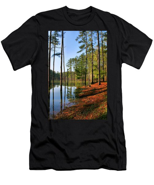 Red Top Mountain Men's T-Shirt (Athletic Fit)