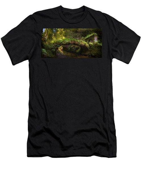 Reelig Bridge And Grotto Men's T-Shirt (Athletic Fit)