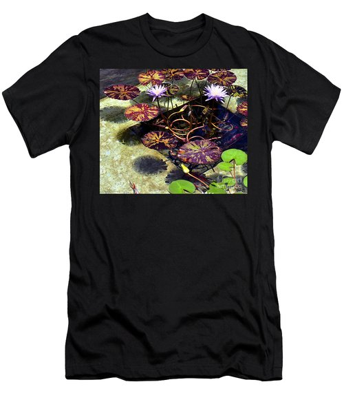 Men's T-Shirt (Slim Fit) featuring the photograph Reflections On Underwater Life by Clayton Bruster