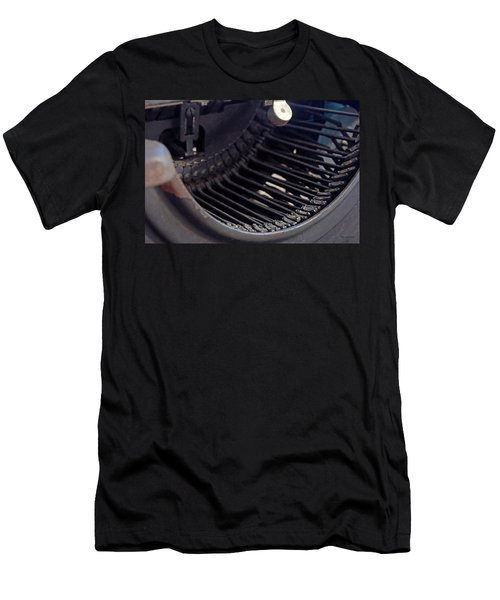 Men's T-Shirt (Slim Fit) featuring the photograph Remington 11 Detail by Kay Lovingood