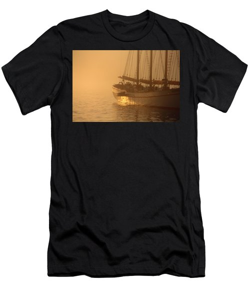 Resting In The Morning Sun Men's T-Shirt (Athletic Fit)