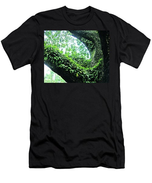 Men's T-Shirt (Slim Fit) featuring the photograph Resurrection Fern by Lizi Beard-Ward