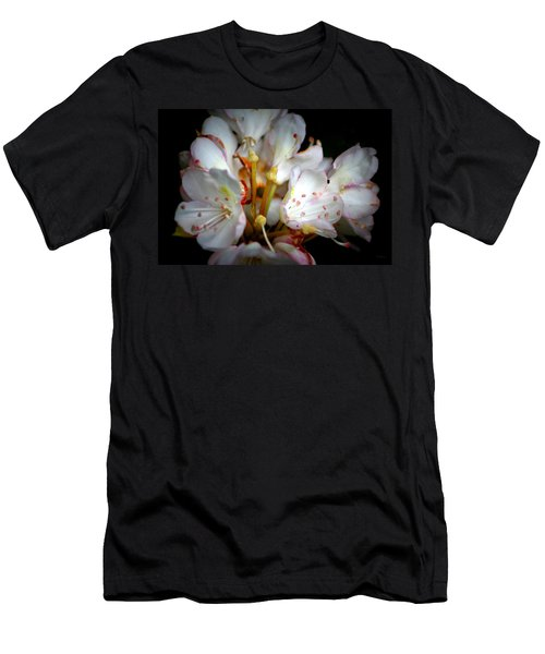 Rhododendron Explosion Men's T-Shirt (Athletic Fit)