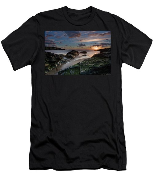 Rhosneigr Sunset  Men's T-Shirt (Athletic Fit)