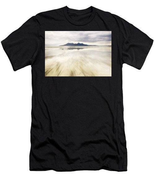 Rhum From Laig Bay Men's T-Shirt (Athletic Fit)
