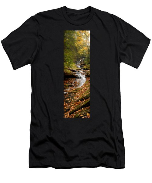 Roaring Fork Falls Men's T-Shirt (Athletic Fit)