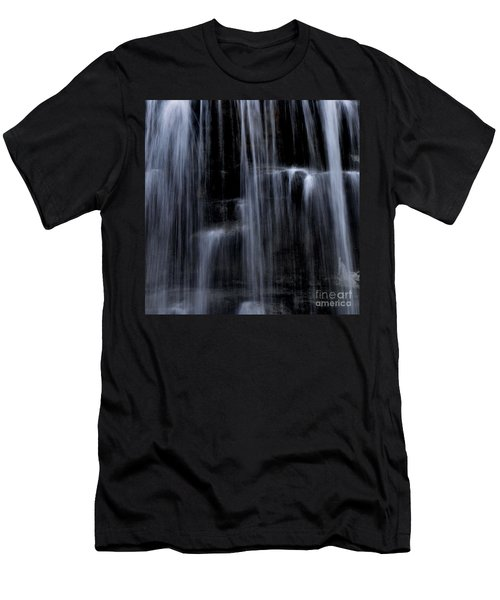 Rock Glen Water Falls Men's T-Shirt (Athletic Fit)