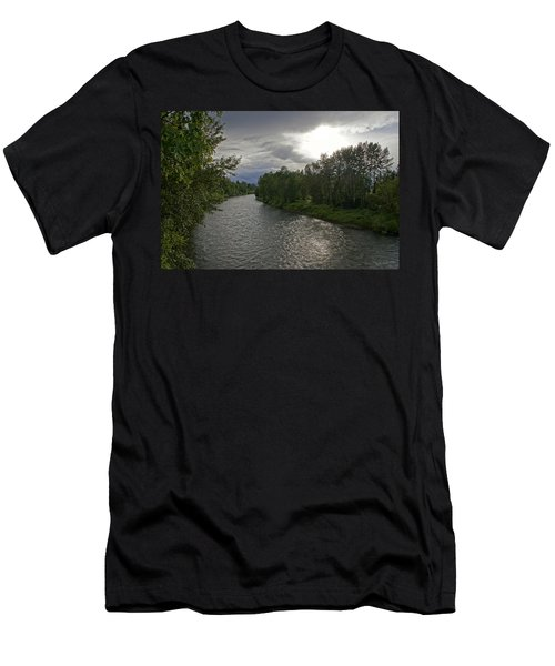 Rogue River In May Men's T-Shirt (Athletic Fit)