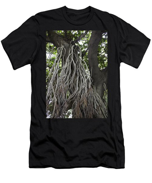 Roots From A Large Tree Inside Jallianwala Bagh Men's T-Shirt (Slim Fit) by Ashish Agarwal