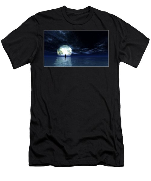 Sailing At Night... Men's T-Shirt (Athletic Fit)