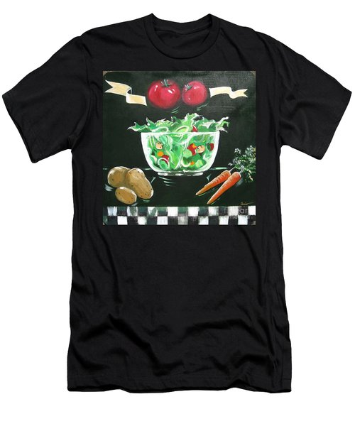 Salad Bowl Men's T-Shirt (Slim Fit)