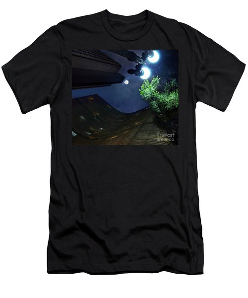 Copan Building And The Moonlight Men's T-Shirt (Athletic Fit)