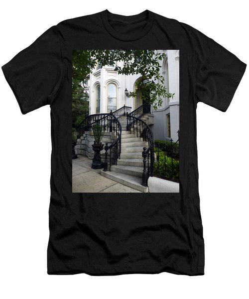 Savannah Stairway Men's T-Shirt (Athletic Fit)