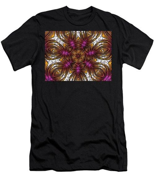 Men's T-Shirt (Slim Fit) featuring the digital art Scorpion Sunset by Alec Drake