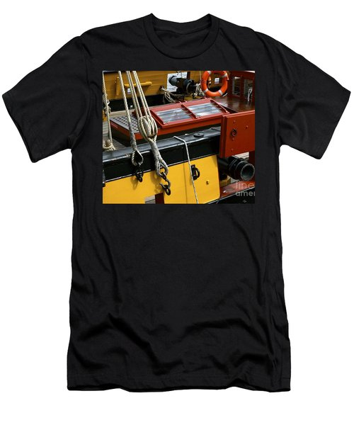 Men's T-Shirt (Slim Fit) featuring the photograph Sea Worthy by Elf Evans