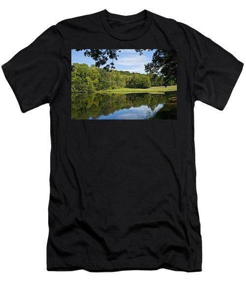 Secret Fishing Hole Men's T-Shirt (Athletic Fit)