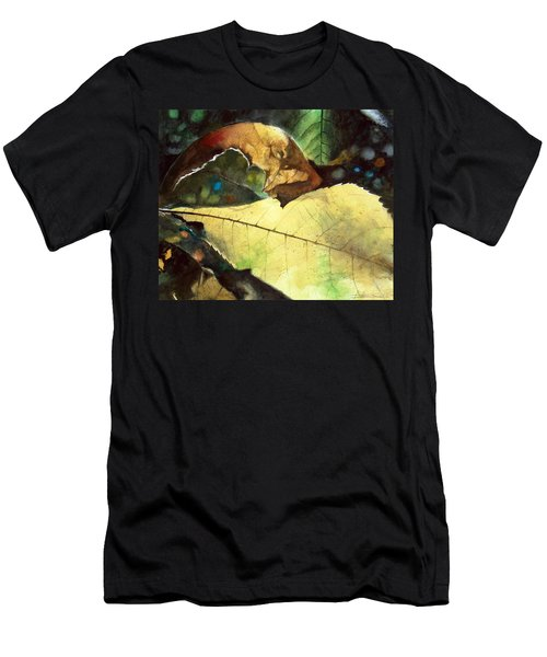 Men's T-Shirt (Athletic Fit) featuring the painting September Afternoon by Andrew King