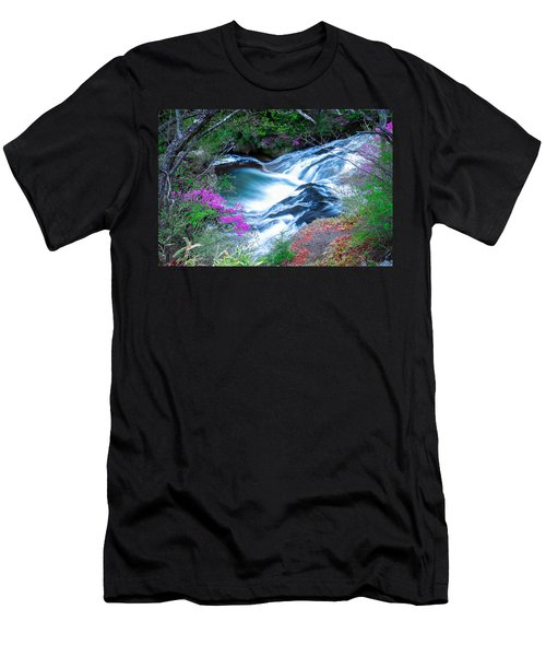 Serenity Flowing Men's T-Shirt (Athletic Fit)