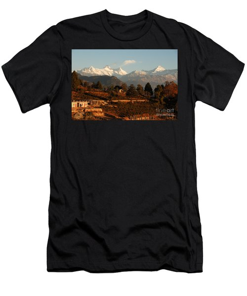 Serenity Men's T-Shirt (Slim Fit) by Fotosas Photography