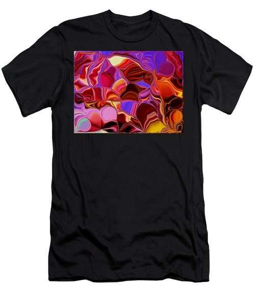 Shades Of Satin Men's T-Shirt (Athletic Fit)