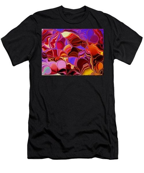 Shades Of Satin Men's T-Shirt (Slim Fit) by Renate Nadi Wesley