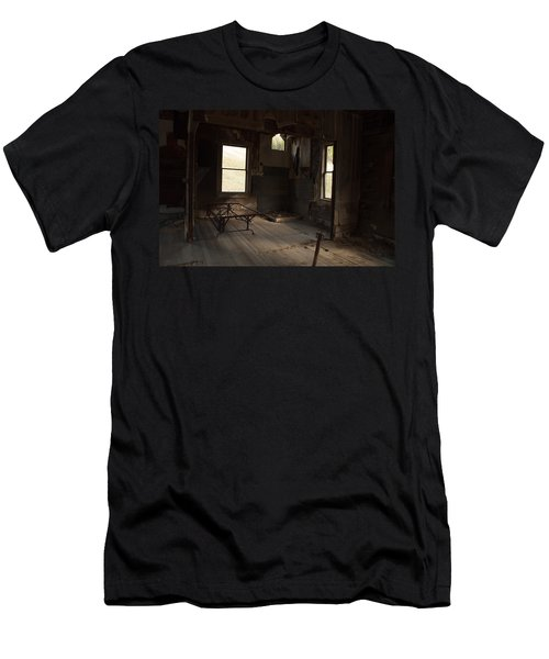 Men's T-Shirt (Slim Fit) featuring the photograph Shadows Of Time by Fran Riley