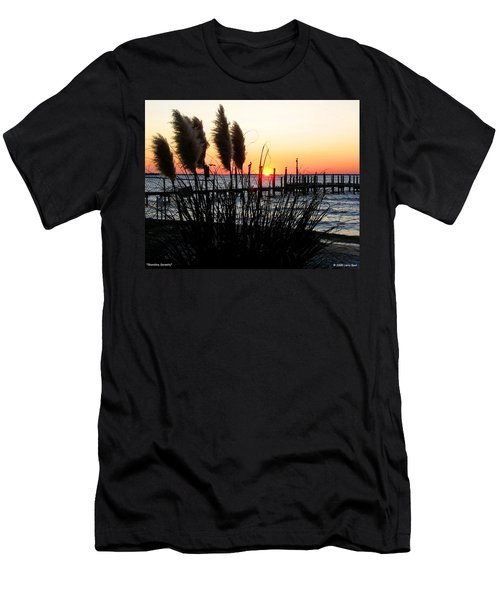 Shoreline Serenity Men's T-Shirt (Athletic Fit)