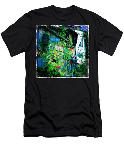 Men's T-Shirt (Slim Fit) featuring the photograph Sign Wall by Nina Prommer
