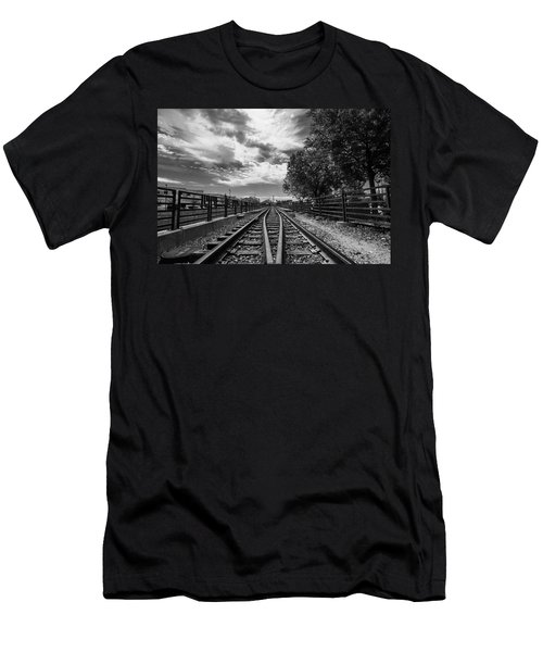 Men's T-Shirt (Slim Fit) featuring the photograph Silent Spur by Tom Gort