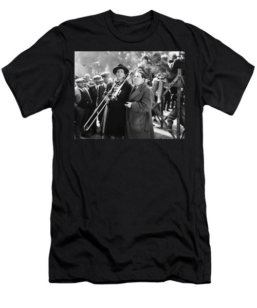 Silent Still: Musicians Men's T-Shirt (Athletic Fit)