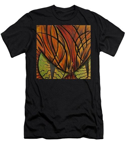 Sinister Feline Men's T-Shirt (Athletic Fit)
