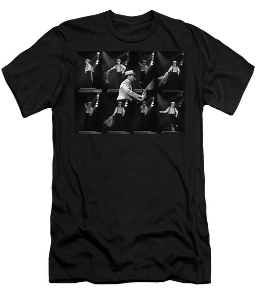 Sir Elton John 9 Men's T-Shirt (Athletic Fit)