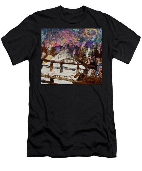 Sky Over The Allegheny Men's T-Shirt (Athletic Fit)