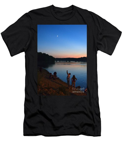 Skywatchers Men's T-Shirt (Slim Fit) by Sue Stefanowicz