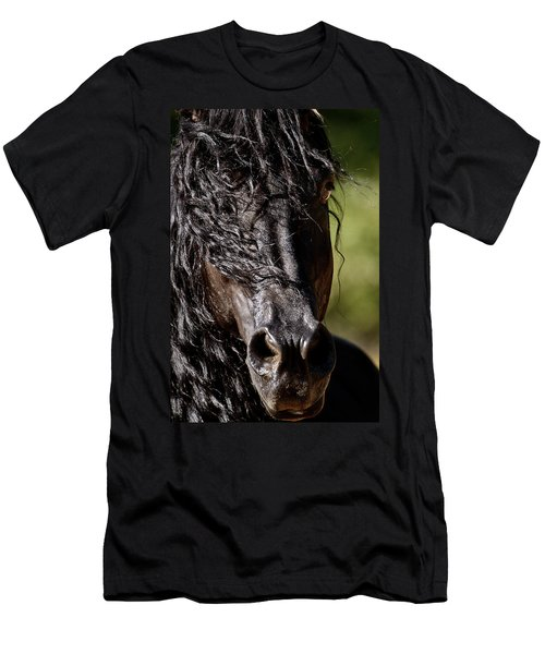 Snorting Good Looks Men's T-Shirt (Slim Fit) by Wes and Dotty Weber
