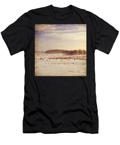 Snowy Landscape Men's T-Shirt (Athletic Fit)