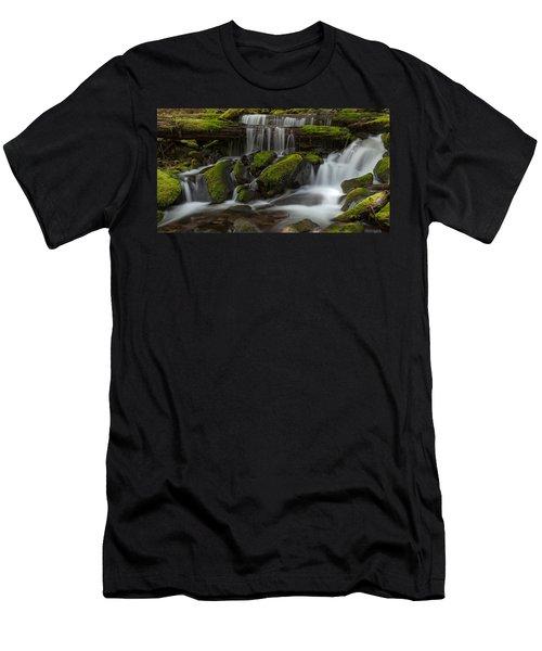Sol Duc Stream Men's T-Shirt (Slim Fit) by Mike Reid