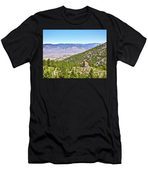 Solitude With A View - Carson City Nevada Men's T-Shirt (Athletic Fit)