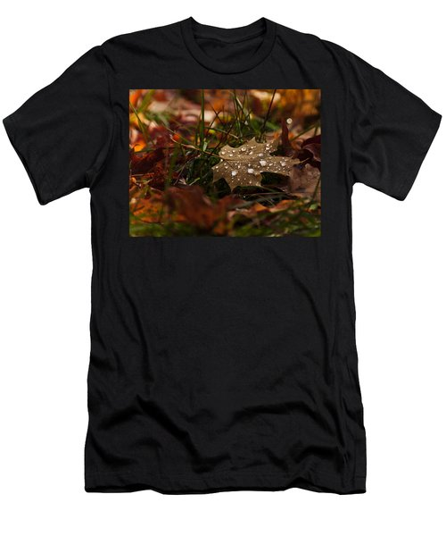 Men's T-Shirt (Slim Fit) featuring the photograph Sparkling Gems by Cheryl Baxter