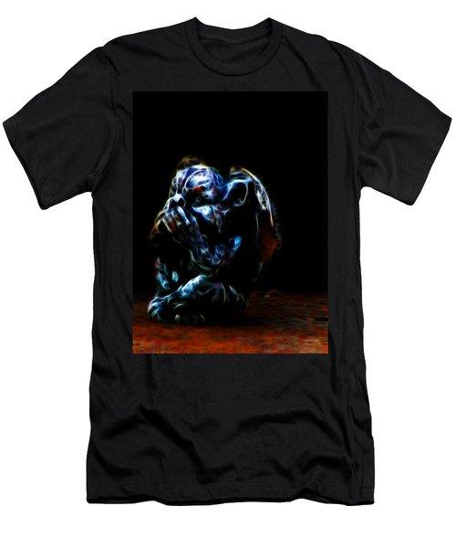Speak No Evil Gargoyle Men's T-Shirt (Athletic Fit)