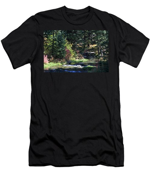 Spearfish Canyon Men's T-Shirt (Athletic Fit)