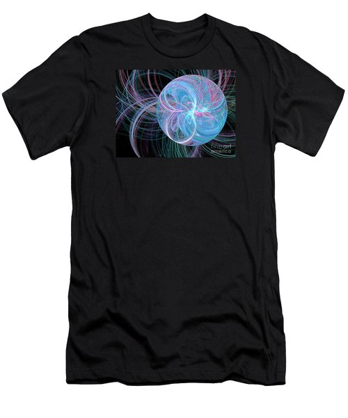 Men's T-Shirt (Slim Fit) featuring the digital art Spherical Symphony by Kim Sy Ok